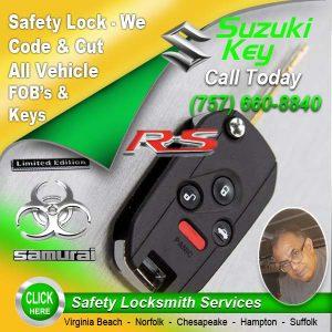 Suzuki Car Key Repair