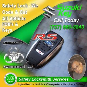 Suzuki FOB Locksmith