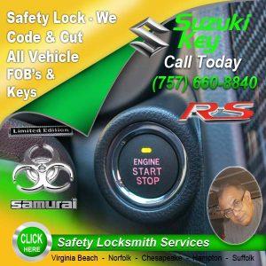 Suzuki Car Key Repairs
