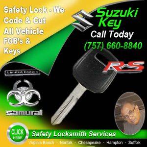 Suzuki Key Repair