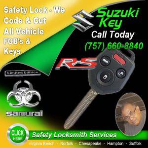 Suzuki Key Repairs