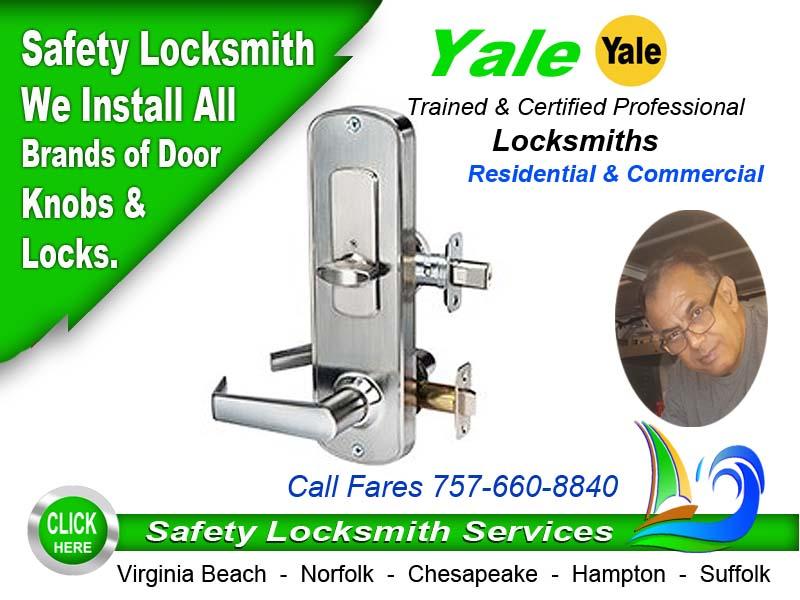 Yale Locksmith Call Safety 757-660-8840