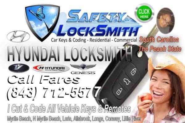 Car Keys Hyundai – (843) 712-5577