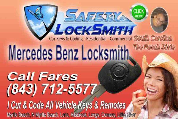 Mercedes Remote Key Fob – Call Fares (843) 712-557716