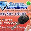 Mercedes Remote Key Fob