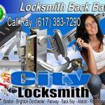 Locksmith Back Bay Call Ray 617-383-7290