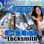 Locksmith Cambridge Call Ray 617-383-7290