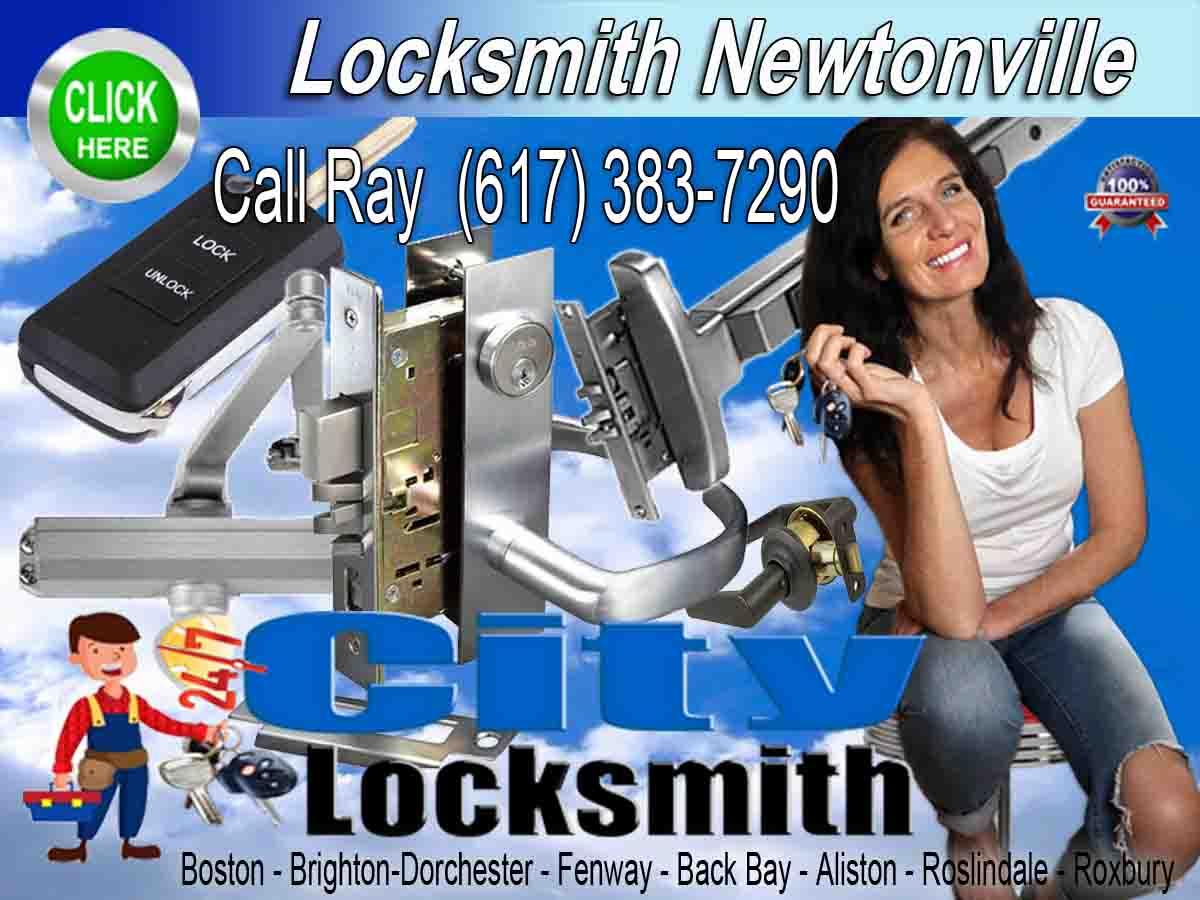Locksmith Newtonville Call Ray 617-383-7290
