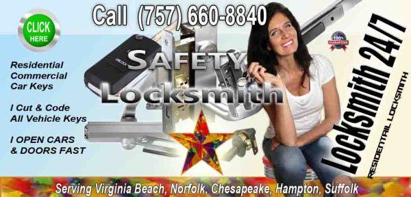 Residential Locksmith – Call Fares Now 757 660-8840
