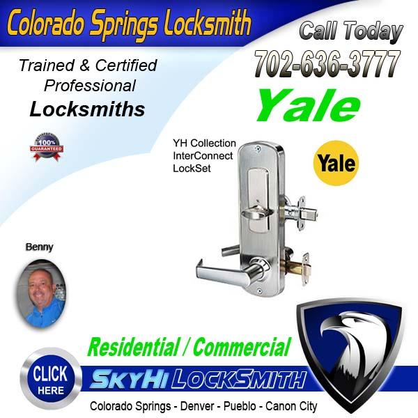 Yale Locksmith Services Call SkyHi Today 719-636-3777