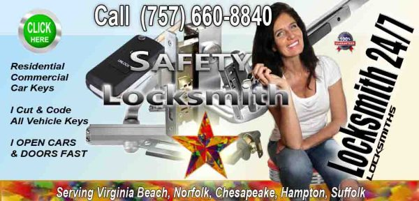 Locksmiths – Call Safety Fares Today 757-660-8840